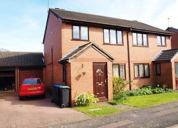 Thumbnail 3 bed semi-detached house for sale in Gladbeck Way, Enfield
