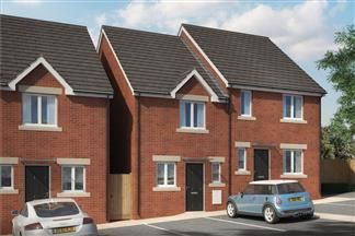 Thumbnail 2 bed terraced house for sale in Chelmsford Road, Swindon, Wiltshire