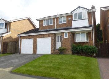 Thumbnail 4 bed detached house for sale in Carr Bank, Glossop, Derbyshire