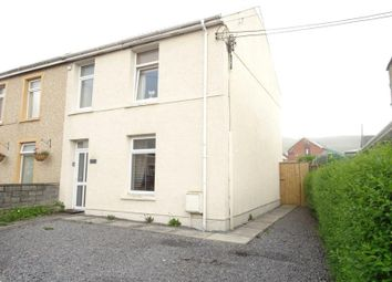 Thumbnail 4 bed semi-detached house for sale in Brecon Road, Hirwaun, Aberdare, Mid Glamorgan
