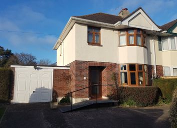 Thumbnail 3 bedroom semi-detached house for sale in Applegarth Avenue, Newton Abbot