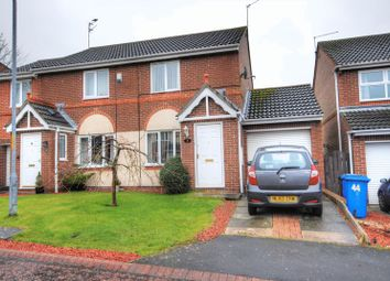 Thumbnail 2 bed semi-detached house for sale in Church View, Longhorsley, Morpeth