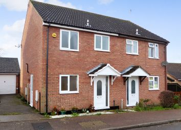 Thumbnail 3 bed semi-detached house for sale in Stanton Close, Beccles