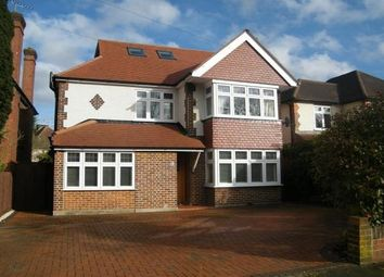 Thumbnail 5 bedroom property to rent in Hillmont Road, Hinchley Wood, Esher