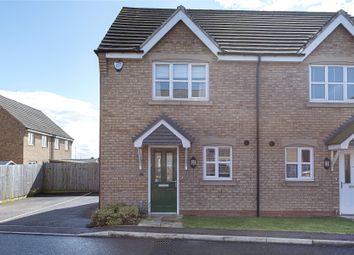 Thumbnail 2 bedroom semi-detached house for sale in Spire Close, Lincoln