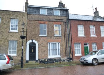 Thumbnail 3 bedroom terraced house for sale in North Brink, Wisbech