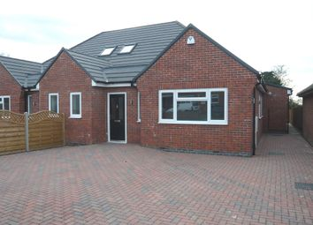Thumbnail 3 bedroom semi-detached bungalow for sale in Hall Road, Scraptoft, Leicester