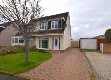 Thumbnail 3 bed semi-detached house for sale in Fulshaw Court, Prestwick, South Ayrshire