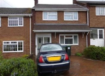 Thumbnail 3 bed terraced house to rent in Harvington Road, Quinton, West Midlands