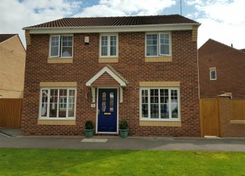 Thumbnail 4 bed detached house for sale in Curbar Close, Mansfield