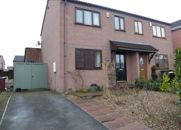Thumbnail Semi-detached house for sale in Cherry Tree Grove, North Wingfield, Chesterfield