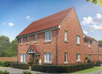 "Thumbnail 3 bedroom end terrace house for sale in ""The Clayton Corner"" at Maidstone Studios, New Cut Road, Maidstone"