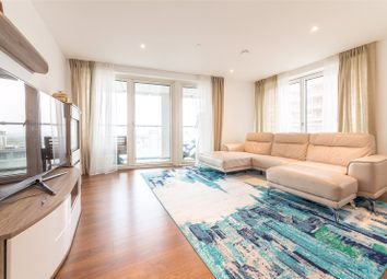 Thumbnail 3 bedroom flat for sale in Talisman Tower, 6 Lincoln Plaza, London