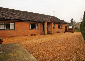 Thumbnail 4 bed detached bungalow for sale in Coates Road, Coates, Whittlesey