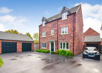 Thumbnail 4 bed detached house for sale in Twickenham Road, Kirkby-In-Ashfield, Nottingham