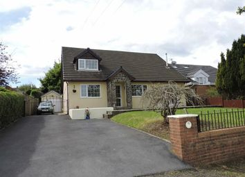 Thumbnail 4 bed detached bungalow for sale in Clos Yr Hendre, Capel Hendre, Ammanford