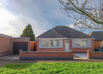 Thumbnail 2 bed detached bungalow for sale in Windermere Road, Wigston