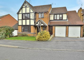 Thumbnail 4 bed detached house for sale in Minton Road, Castle Donington, Derby