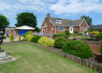 Thumbnail 4 bed detached bungalow for sale in School Lane, Cantley, Norwich
