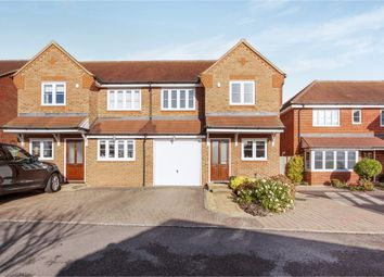 Thumbnail 3 bed semi-detached house for sale in Blanes Close, Long Crendon, Aylesbury