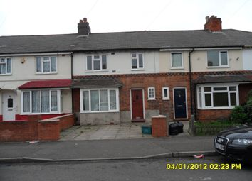 Thumbnail 3 bed terraced house to rent in Stonleigh Road, Perry Barr, Birmingham