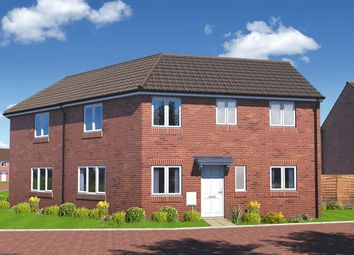 "Thumbnail 3 bed semi-detached house for sale in ""The Redcar"" at Warren Lane, Witham St. Hughs, Lincoln"