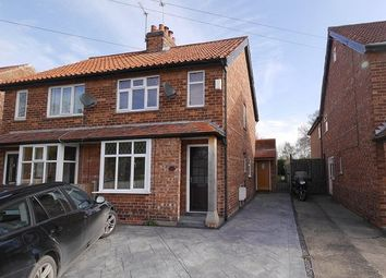 Thumbnail 2 bedroom semi-detached house to rent in Moor Lane, Strensall, York