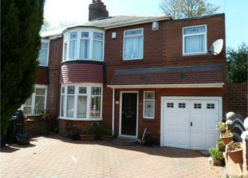 Thumbnail 5 bedroom semi-detached house for sale in Keldane Gardens, Newcastle Upon Tyne, Tyne And Wear