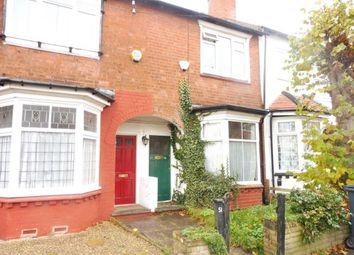 Thumbnail 2 bed terraced house for sale in Swindon Road, Edgbaston, Birmingham