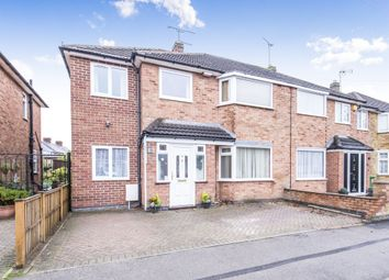 Thumbnail 5 bed semi-detached house for sale in West Street, Blaby, Leicester