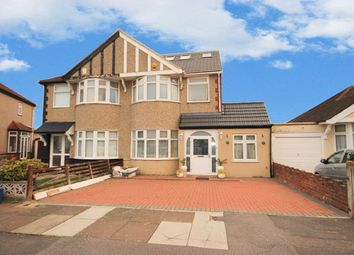 Thumbnail 5 bed semi-detached house for sale in Belvedere Avenue, Clayhall, Ilford