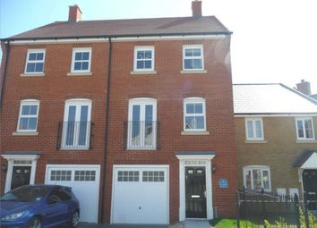 Thumbnail 3 bed town house to rent in Peony Crescent, Sittingbourne