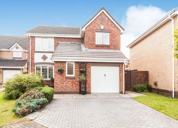 Thumbnail 4 bed detached house for sale in Cawthorn Close, Hemlington, Middlesbrough