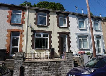 Thumbnail 3 bed terraced house for sale in Bryntaf, Aberfan, Merthyr Tydfil