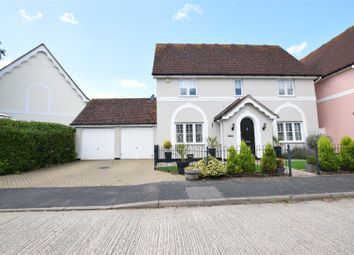 Thumbnail 3 bedroom detached house for sale in St. Marys Close, Panfield, Braintree