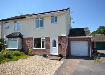 Thumbnail 3 bed semi-detached house for sale in The Leat, Bishops Lydeard, Taunton