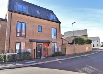 Thumbnail 4 bed town house for sale in Grenadier Drive, Northstowe, Cambridge