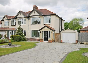Thumbnail 3 bed semi-detached house for sale in Burnside Avenue, Stockton Heath, Warrington