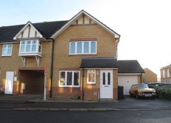 Thumbnail 3 bed end terrace house to rent in Bracken Close, Lee-On-The-Solent