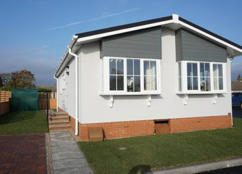 Thumbnail 2 bed detached bungalow for sale in Kirkstead Bridge Park, Martin Dales, Woodhall Spa