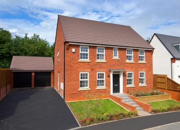 "Thumbnail 4 bed detached house for sale in ""Chelworth"" at Morda, Oswestry"