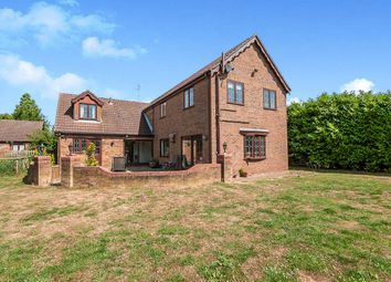 Thumbnail 5 bedroom detached house for sale in Hooks Drove, Murrow, Wisbech