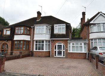 Thumbnail 3 bed semi-detached house for sale in Pickwick Grove, Moseley, Birmingham