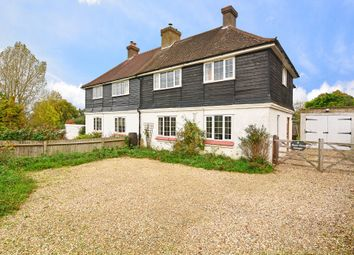 Thumbnail 4 bed semi-detached house for sale in Wanborough Hill, Wanborough, Guildford