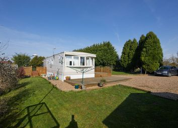 Thumbnail 1 bed lodge for sale in Rexholme Lodge, Frampton Fen Lane, Hubberts Bridge, Boston, Lincolnshire