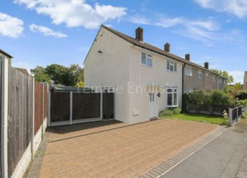 Thumbnail 3 bedroom end terrace house to rent in Elgar Close, Laindon, Basildon