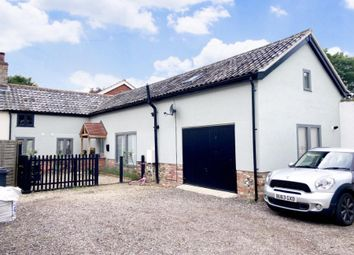 Thumbnail 3 bed semi-detached house for sale in Great Hockham, Thetford