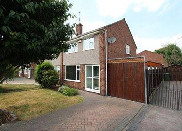 Thumbnail 3 bed semi-detached house for sale in Delamere Road, Bedworth
