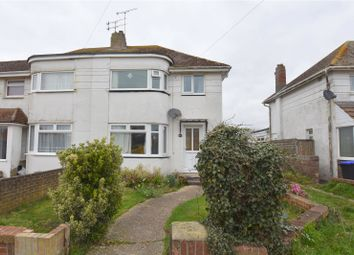 Thumbnail 3 bed semi-detached house for sale in West Way, Lancing, West Sussex