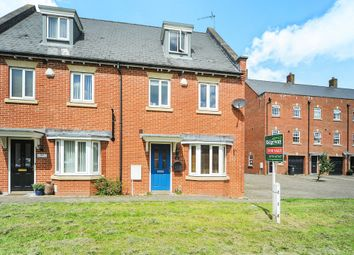Thumbnail 4 bedroom end terrace house for sale in Phoebe Way, Swindon